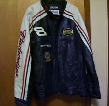 Dale Earnhardt Jr. Budweiser Leather Jacket (XXL) by Wilson Leather