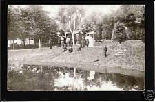 LeMars Iowa 1908 Cleveland Park Picnic Grounds IA