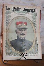 Petit journal dibujada nº1368 1917 General Guillemin Aeronáutico Alemanes Bis