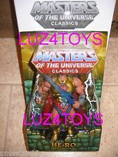 MOTU Mattel He-Man Masters of the Universe Classics He-Ro Exclusive SDCC  2009