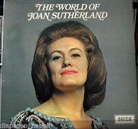 Joan Sutherland: The World Of Joan Sutherland - LP Decca