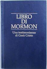 X 0434 VOLUME LIBRO DI MORMON – UNA TESTIMONIANZA A GESU' CRISTO