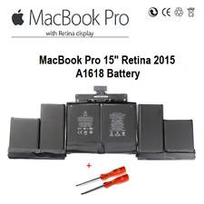 "Genuine Apple MacBook Pro 15"" Retina 2015  A1618 Battery 8755mAh + Tools   Local"