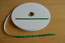 Green Self Adhesive Sequins 10 metres from the reel