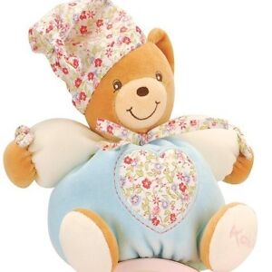 New Kaloo Small Chubby Bear With Liberty Hat