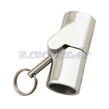 "Marine Boat Stainless 7/8"" Rail Fittings Folding Swivel Tube Pipe Connector"