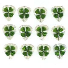 12 Pack 4 LEAF CLOVER St. Patrick Luck of The Irish  Medium Gauge Picks Plectrum
