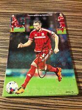 Signiertes Foto Ritchie de Laet FC Middlesbrough   NEU