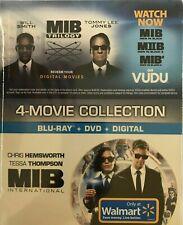 New listing New Men in Black International on Blu Ray Dvd Digital Plus Trilogy on Vudu 1-4