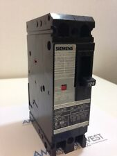 Siemens HED42B125 125 AMP 2 Pole  480 VAC Circuit Breaker Used