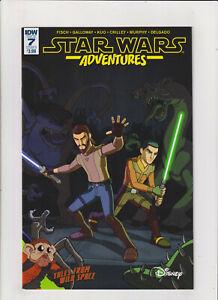 Star Wars Adventures #7 NM- 9.2 IDW Comics 1st app. of Honda Anaka, Rebels app.