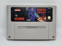 PHANTOM 2040 Super Nintendo Rare Original SNES Cartridge Only