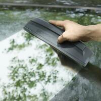Silicone Blade Car Wash Water Wiper Soap Scraper Squeegee Window Cleaner