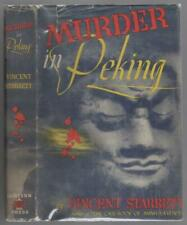 Murder in Peking by Vincent Starrett (First Edition) Signed