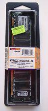 NIB KINGSTON VALUE RAM PC133 256MB Low Profile KVR133X72RC3L/256-IS SDRAM 168 pn