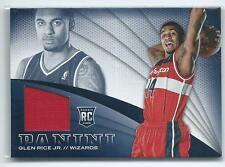 2013-14 Panini Basketball Glen Rice Jr. JERSEY RELIC RC WIZARDS