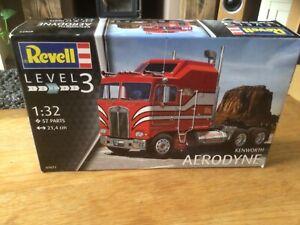 Revell model kit Kenworth Aerodyne truck