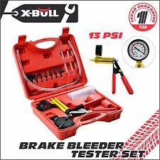 X-BULL Hand Held Brake Bleeder Tester Set Bleed Kit Vacuum Pump Car Bleeding
