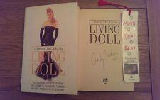 Living Doll SIGNED Cindy Jackson Hardback 2002 1st Edition 1st Impression Book *