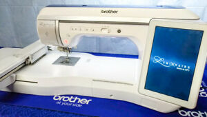 Brother Innov-is XP1 Luminaire Sewing / Embroidery Machine upgraded to XP2