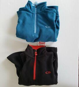Boys' Fleece 1/4 Zip Pullover Champion XS 4 5 lot bundle Warm Lightweight New