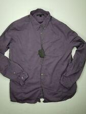 John Varvatos Shirt Sz XL Long Sleeve Button Front Purple Mens New