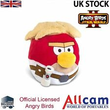 "Angry Birds Star Wars II Large 8"" Cuddly Toy/ Plush Soft Toy Luke Skwalker, New"