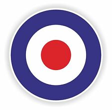 1x british raf force aérienne cocarde vinyle sticker autocollant uk
