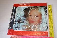 PEGGY LEE 2 LP set The Folks Who Live on The Hill Broadway ala Latin Lee I Like