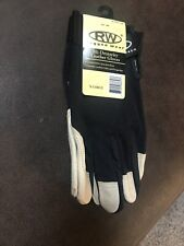 NEW Lot of 2 Black XL Rugged Wear Nitrile Coated Gloves