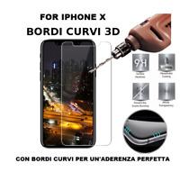 PELLICOLA protettiva di vetro temperato per IPHONE X ultra slim 0,23mm apple