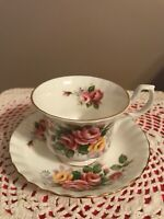 Vintage Royal Albert 'Westbury' Tea Cup & Saucer from the 'Summertime' Series
