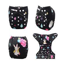 ALVA Reusable Adjustable Washable Baby Cloth Diaper Nappy+1Insert YD27