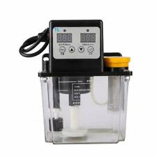 1L Dual Digital Display Automatic Electric Lubrication Pump Oiler NC Pump
