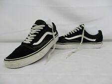 VANS Old Skool Low Top Trainers, Skate Shoes, Black, Size UK 8, Eur 42