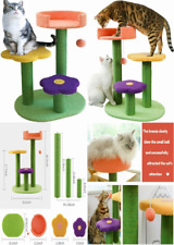 New listing Affenlaskan Cat Tree Tower with Scratching Post Climbing Activity,...