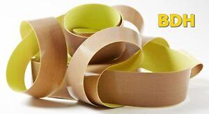 2 m PTFE Folie Teflon®Tape selbstklebend 0.13 x 15mm Folie Schutzfolie 2,85€/m
