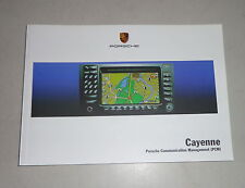 Operating Instructions Porsche Cayenne for Communication Management - 12/1998