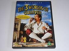 THE 3 WORLDS OF GULLIVER DVD GULLIVERS TRAVELS 60S FILM MOVIE RETRO