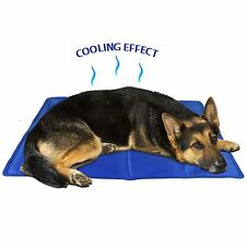 Pet Dog Cat Cooling Gel Mat Bed Summer Heat Relief Non Toxic Cushion Pad 60x44cm