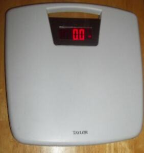 Taylor Mod #7058 Digital Bathroom Scale