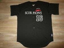 Scottsdale Scorpions #16 Arizona Fall League AFL MLB majestic Jersey LG L mens