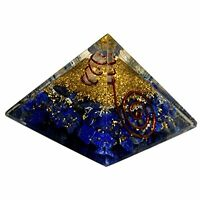 Extra Large Lapis Lazuli  Orgonite (70-75mm) Orgone Gemstone Pyramid X-large
