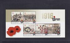 AUSTRALIA 2016 WW1 Centenary Minisheet /Souvenir sheet  MNH - Military, NURSE.