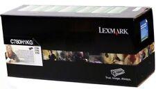 Lexmark GENUINE/ORIGINAL C780H1KG BLACK Laser Printer Toner Cartridge C780/X782