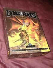 DUNGEON QUEST BOARDGAME, OOP 1st GAMES WORKSHOP/GW 1987 Edition, Solitaire Play