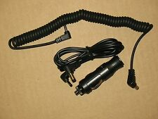 WHISTLER UNIDEN BEL 1.3mm RADAR DETECTOR DC POWER CORD STRAIGHT CABLE CHARGER 5'