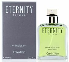ETERNITY for Men by CALVIN KLEIN 6.7 oz 6.8 edt New in box