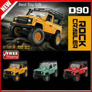 1/12 Scale Remote Control Off-road Vehicle Land Rover Defender D90 2.4GHz RC Car