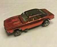 Hot Wheels Redline 1967 Camaro Red Black Roof redlines camero spectraflame car!